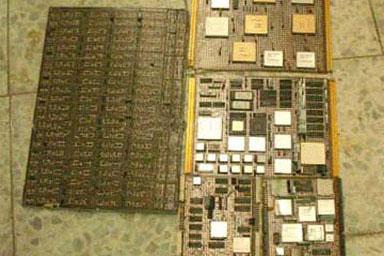 电子镀金废料回收